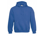 Men/Unisex Hooded-Sweatshirt - Royal Blue,80% combed katoen - 20% polyester Weight: 280 g/m2.