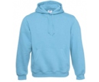 Men/Unisex Hooded-Sweatshirt - Very Turquoise,80% combed katoen - 20% polyester Weight: 280 g/m2.