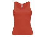 INSPIRE TANK T WOMEN,100% Cotton,140g/m², Red